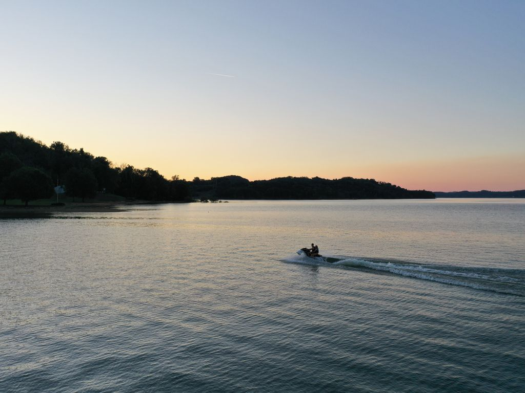 You can Kayak, paddle board, or jet ski right off the dock