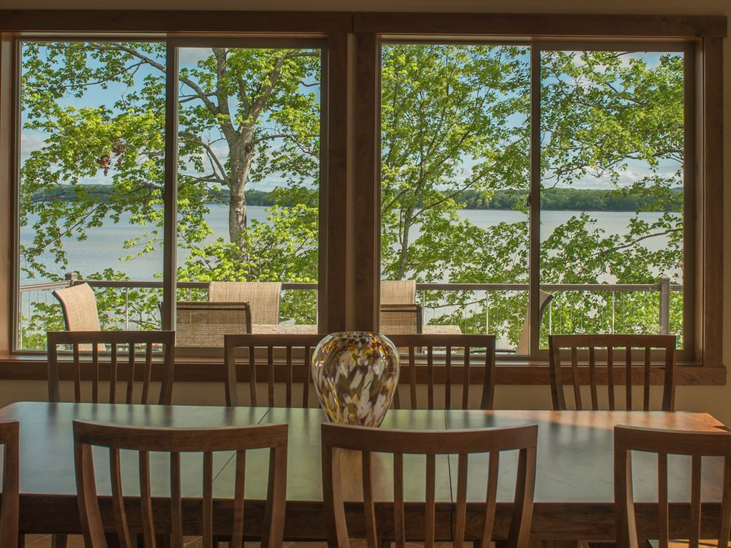 Enjoy meals either in your open dinning area OR outside on your private deck.