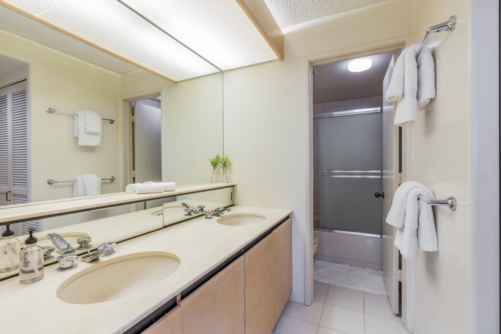 Bathroom with plenty of counter space