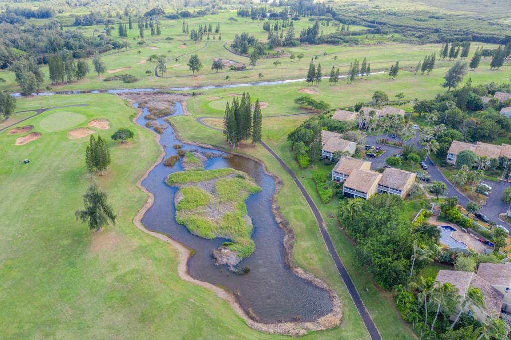 Aerial Shot of Kuilima Estates East