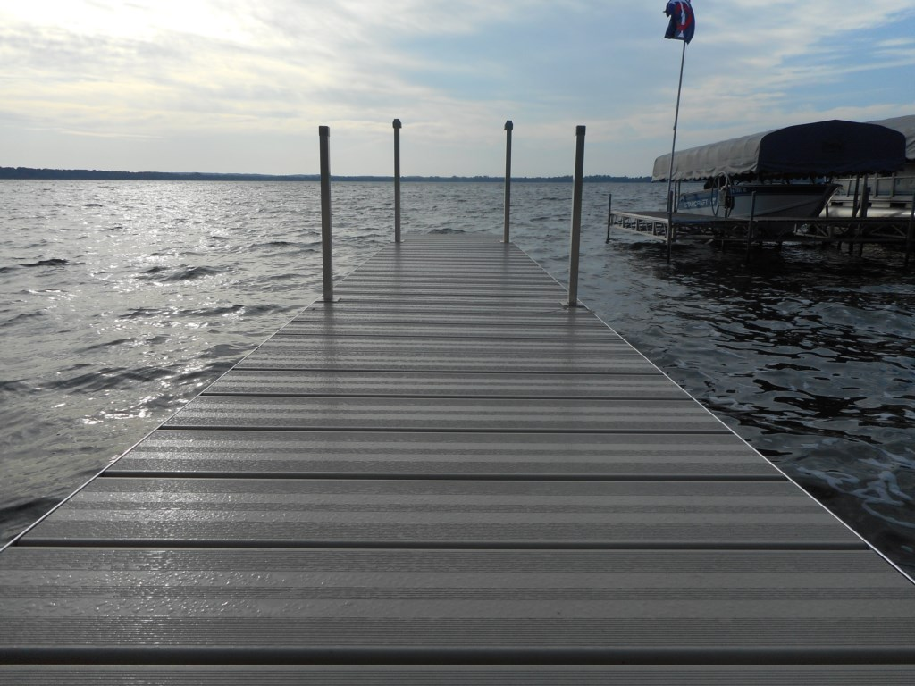 Private dock included with this rental.