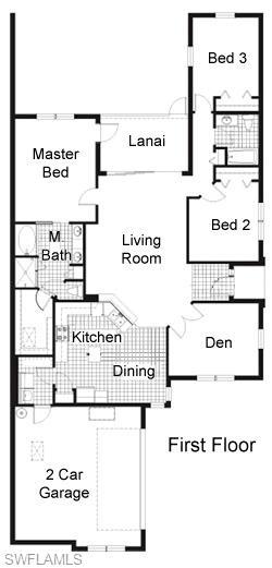 Oxbridge Villa Floorplan