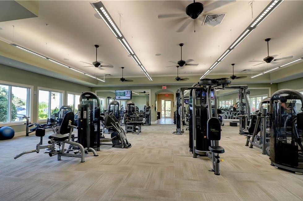 Enjoy all the amenities of the Clubhouse with a fitness room