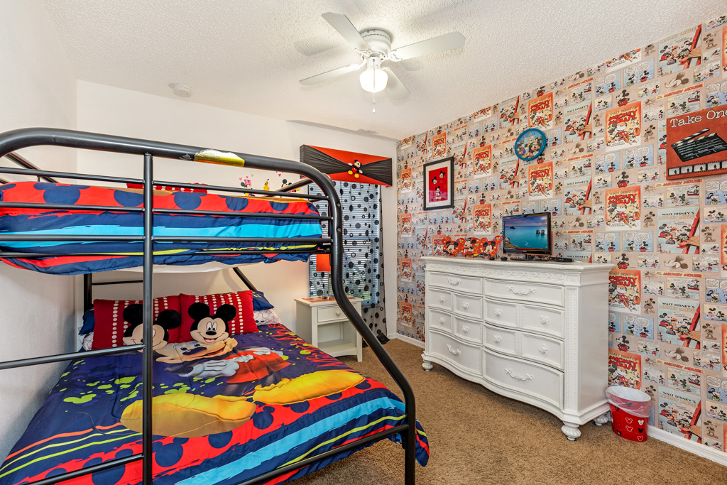 22. Mickey mouse themed bedroom with TV.JPG