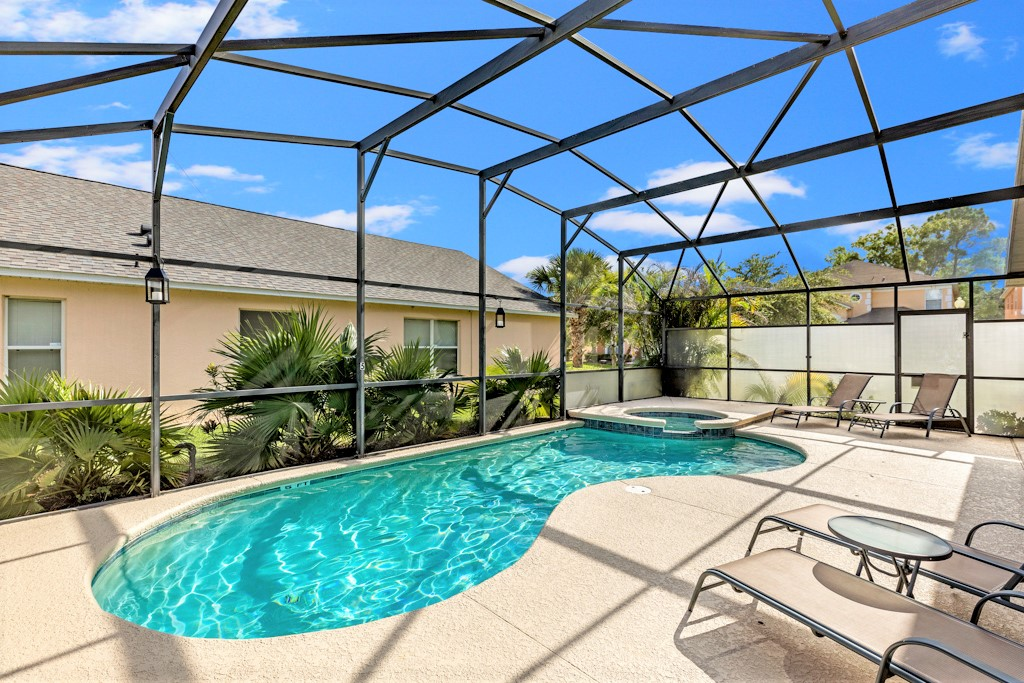 27. Florida villa, Kissimmee with private pool and spa.JPG