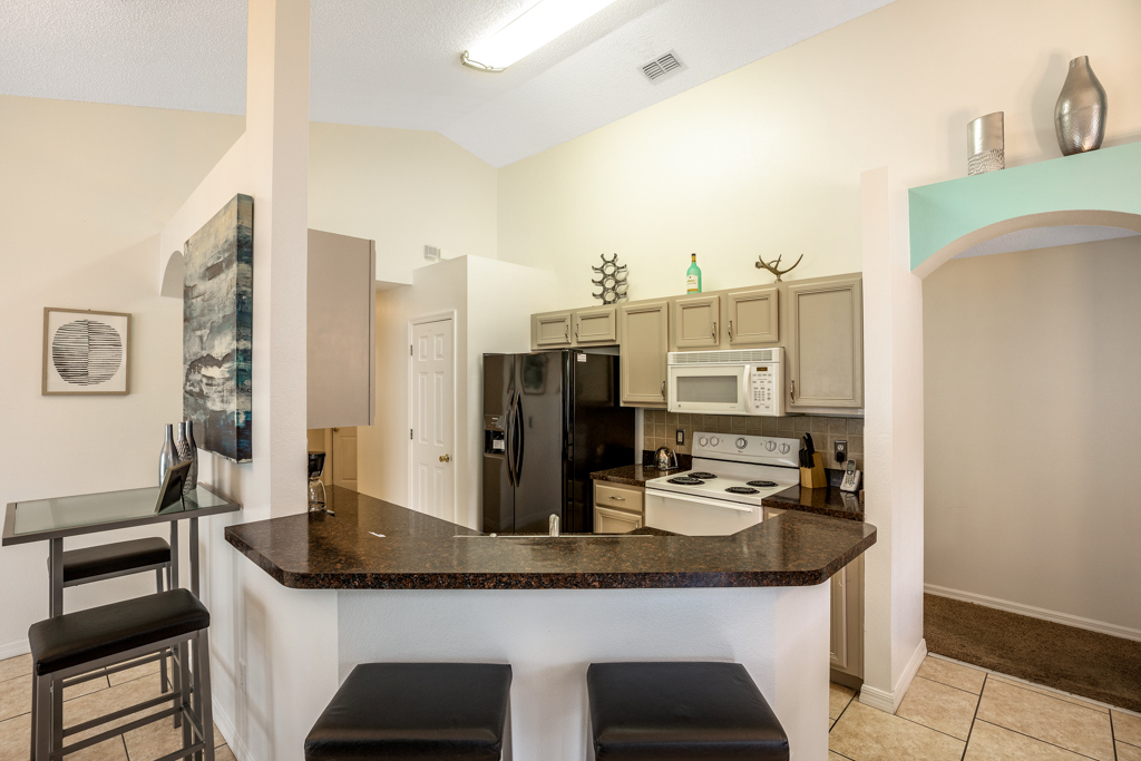 9. Orlando vacation home with private kitchen.JPG