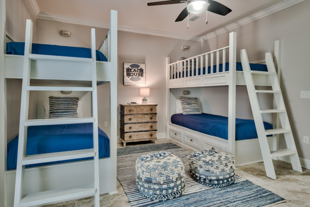 Spacious Twin Bunk Room