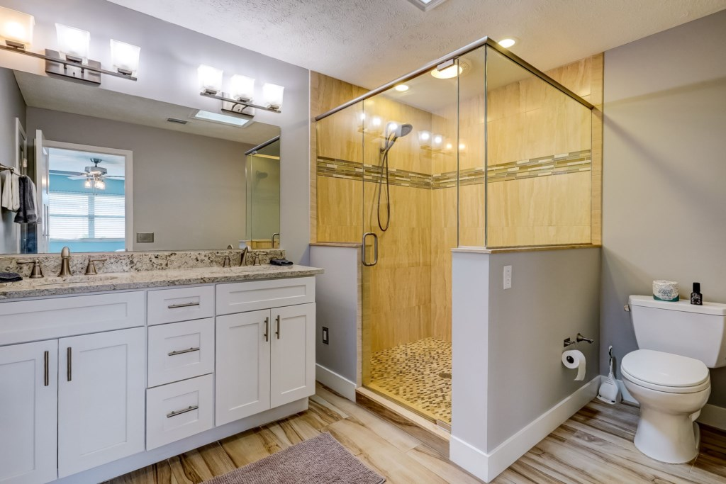 Beautiful Walk-In Shower
