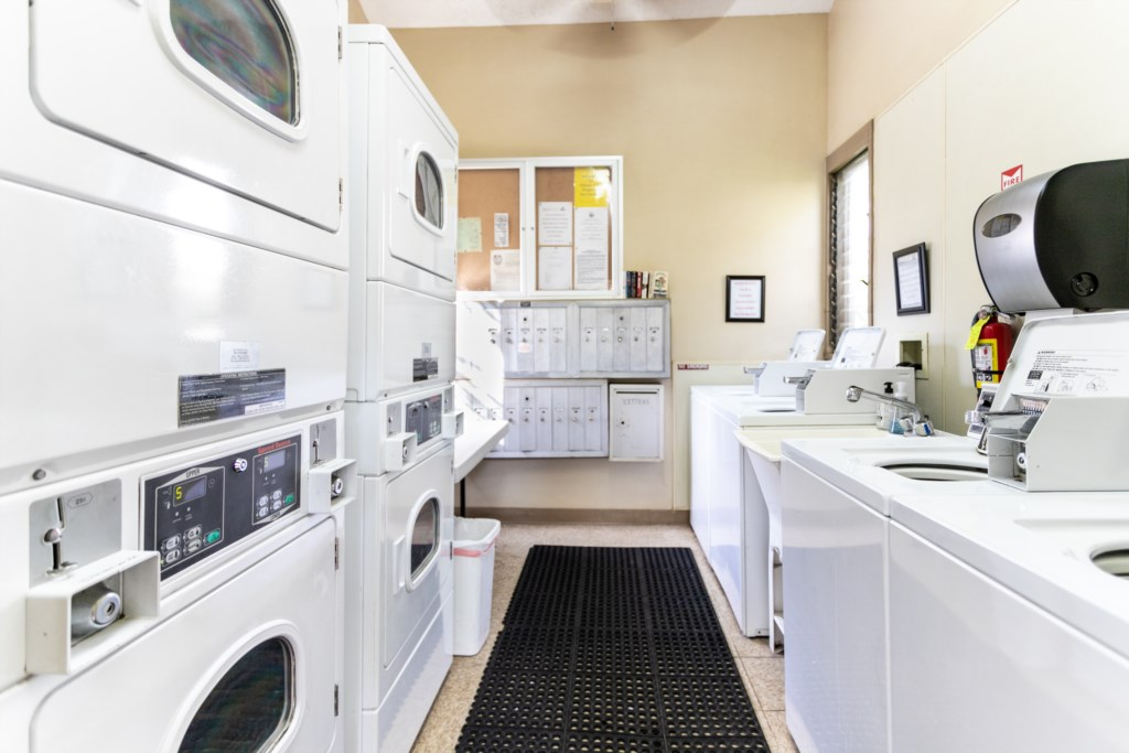Complex Laundry Room
