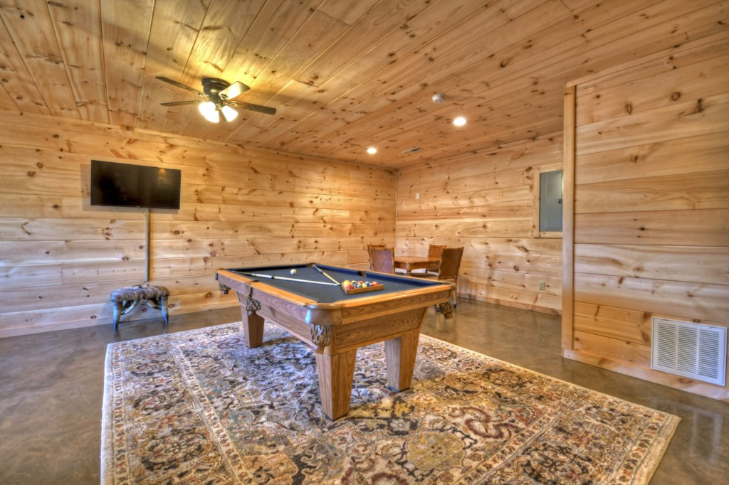 Bring out your competitive side in the Game Room