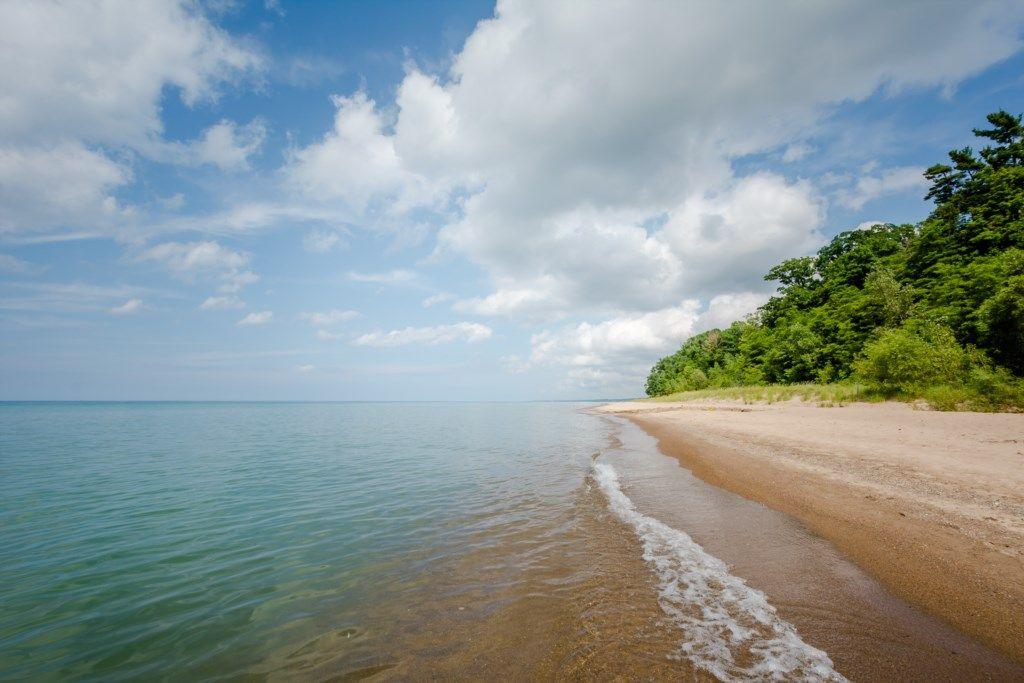 Lake Michigan A Short Walk Away!
