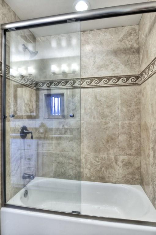 Newport beach vacation rental master bathroom shower