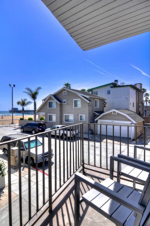 Newport Beach vacation rental balcony view