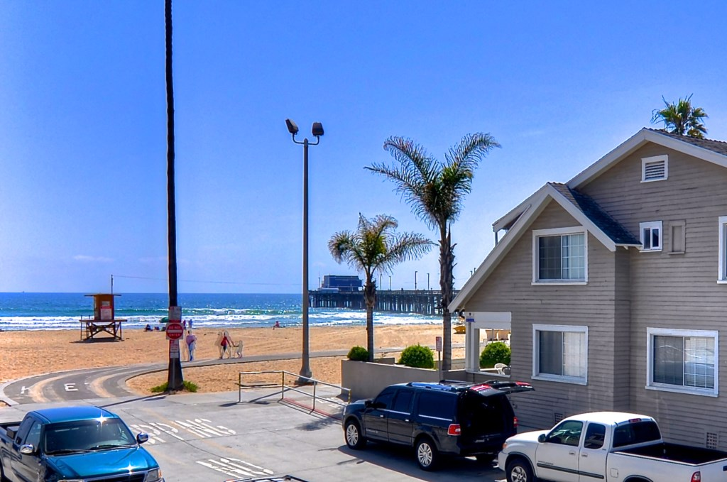 Newport Beach vacation rental beach view