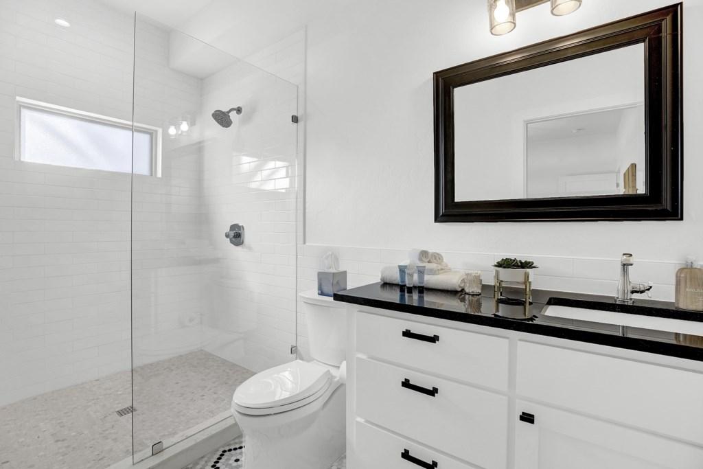 Back House Guest Bathroom 1