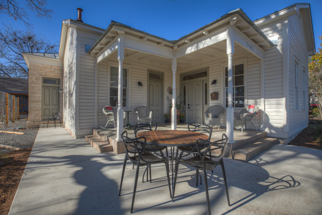 Welcome to Fredericksburg! This gorgeous home is a great fit to relax during your visit to town!