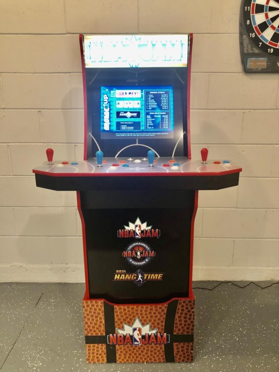 Newest Games Room Addition: Arcade Gaming System!