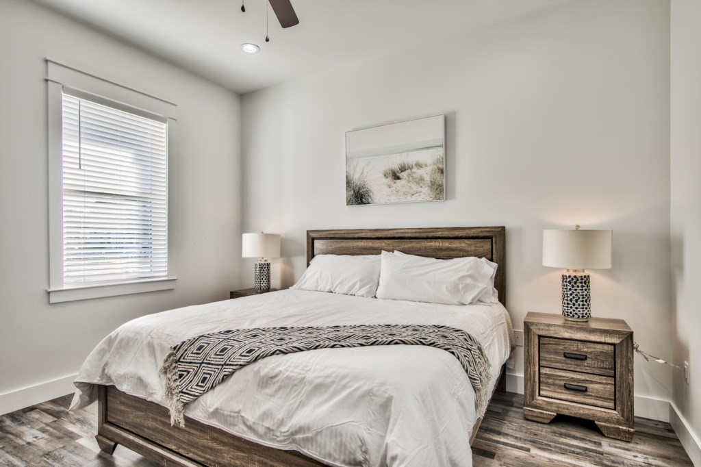 Light and Airy King Bedroom