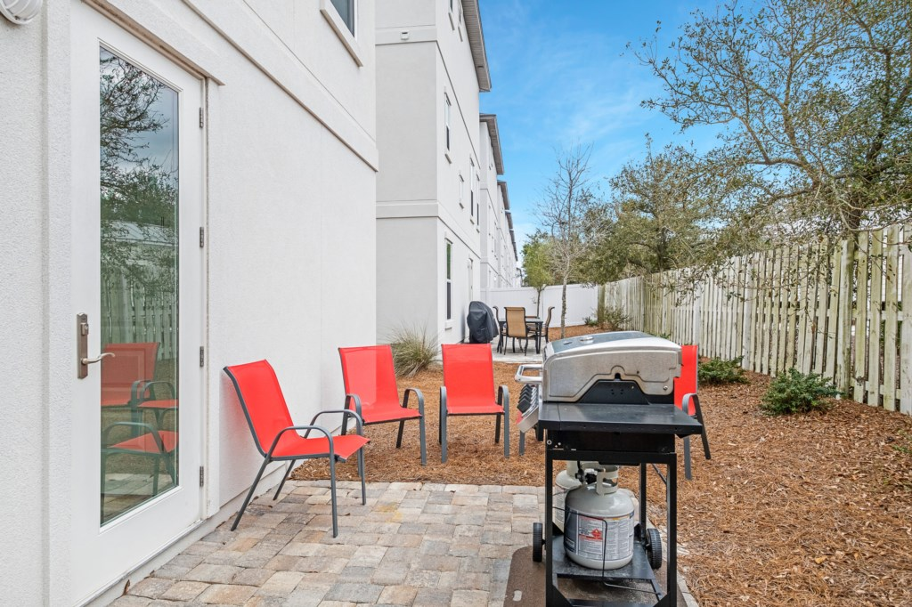 Space For Grilling