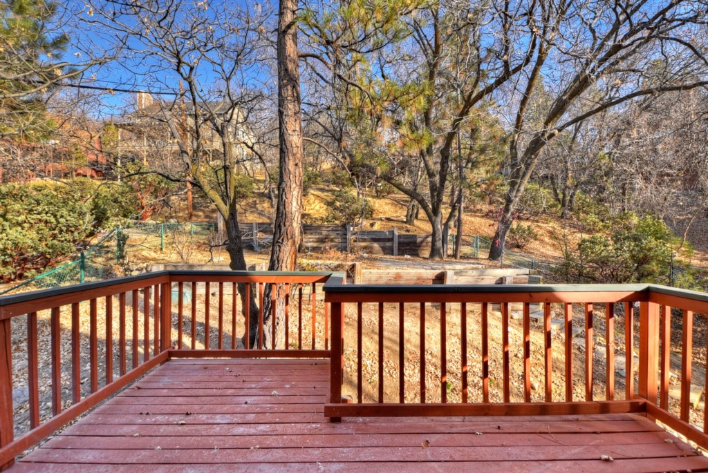 Private Deck off Master Bedroom