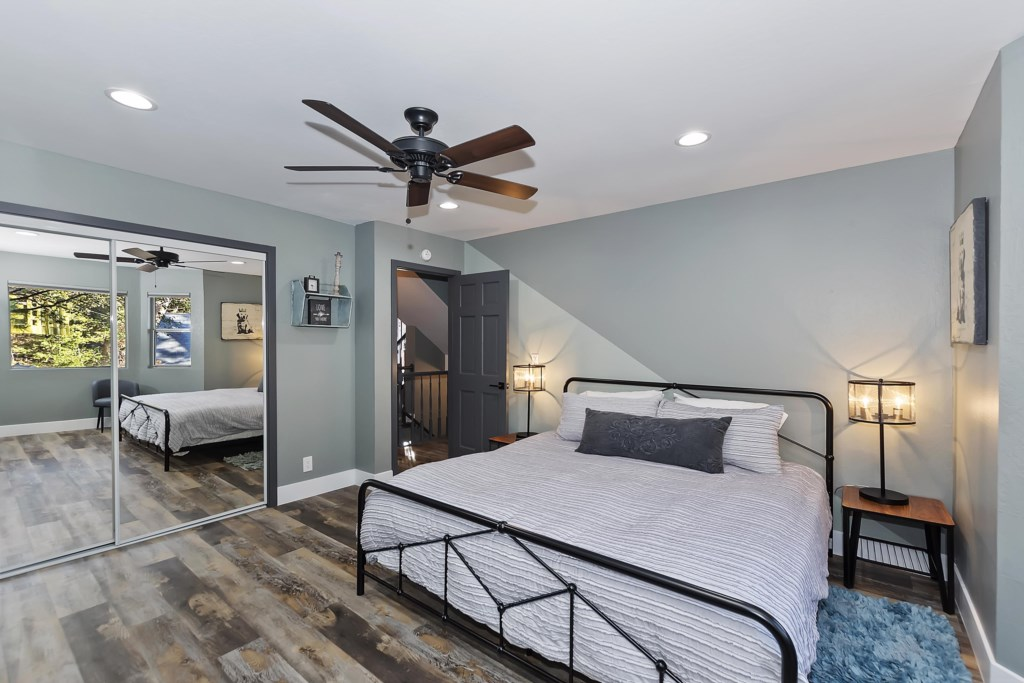 Main Level King Bedroom #1