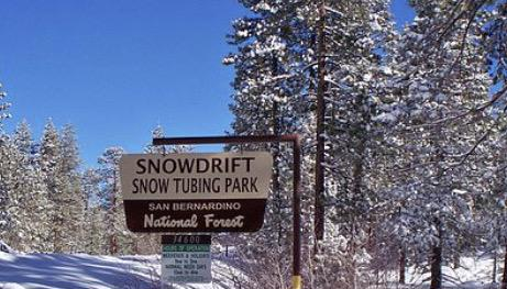 Snow Drift snow tubing park offers inner tubing and snow play when winter snow is present