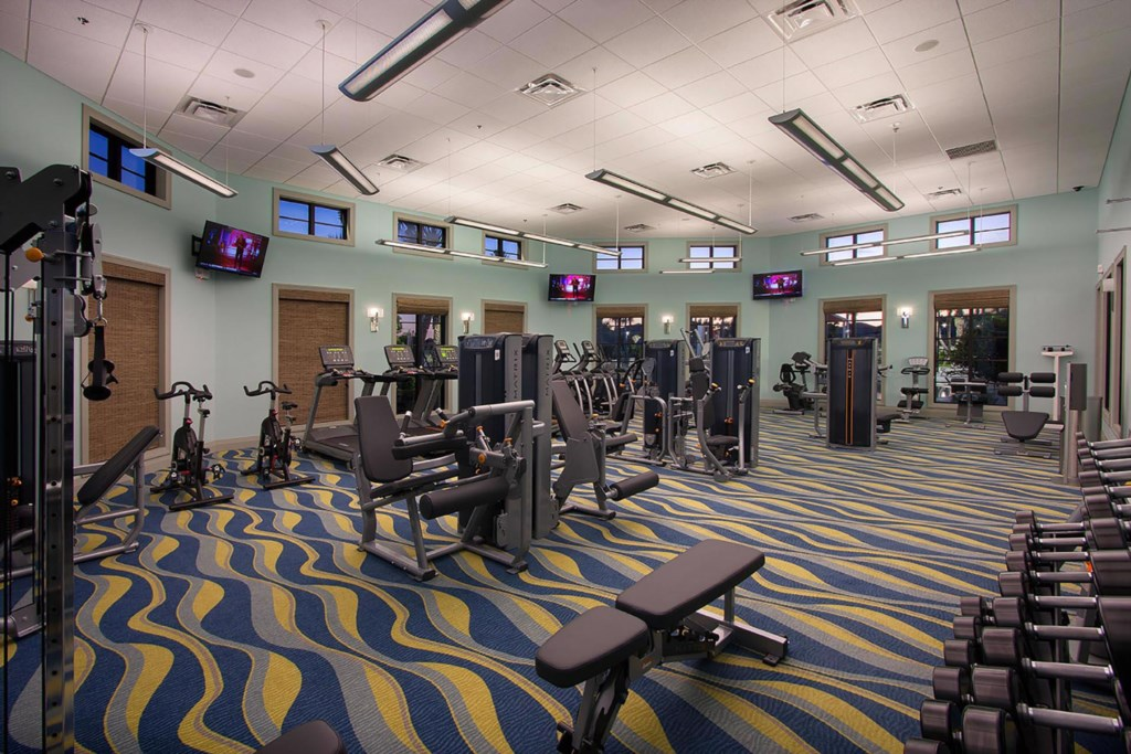 Oasis Club house Fitness Center