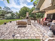 The outdoor area with grill add to a great staycation!