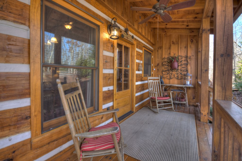 Great front porch to rock and enjoy your morning coffee