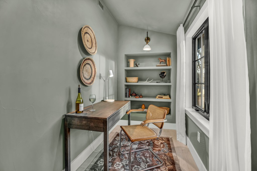 Our front cottage offers a great office space!