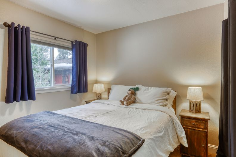 Master Queen Bedroom on the Main Level