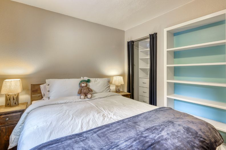 Master Bedroom Closet for your clothes