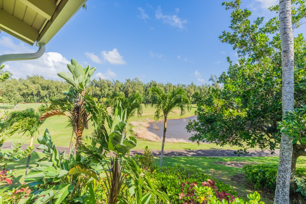 View of Golf Course from Lanai