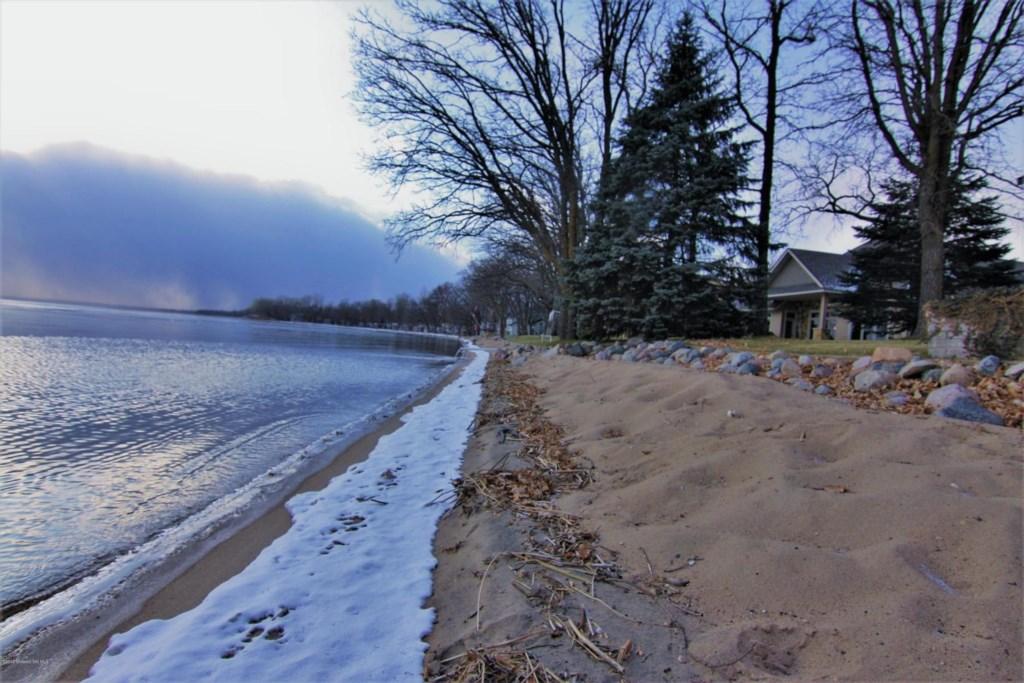Beautiful private beach area.