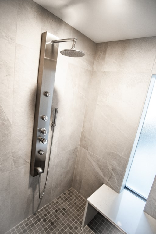 High end shower system