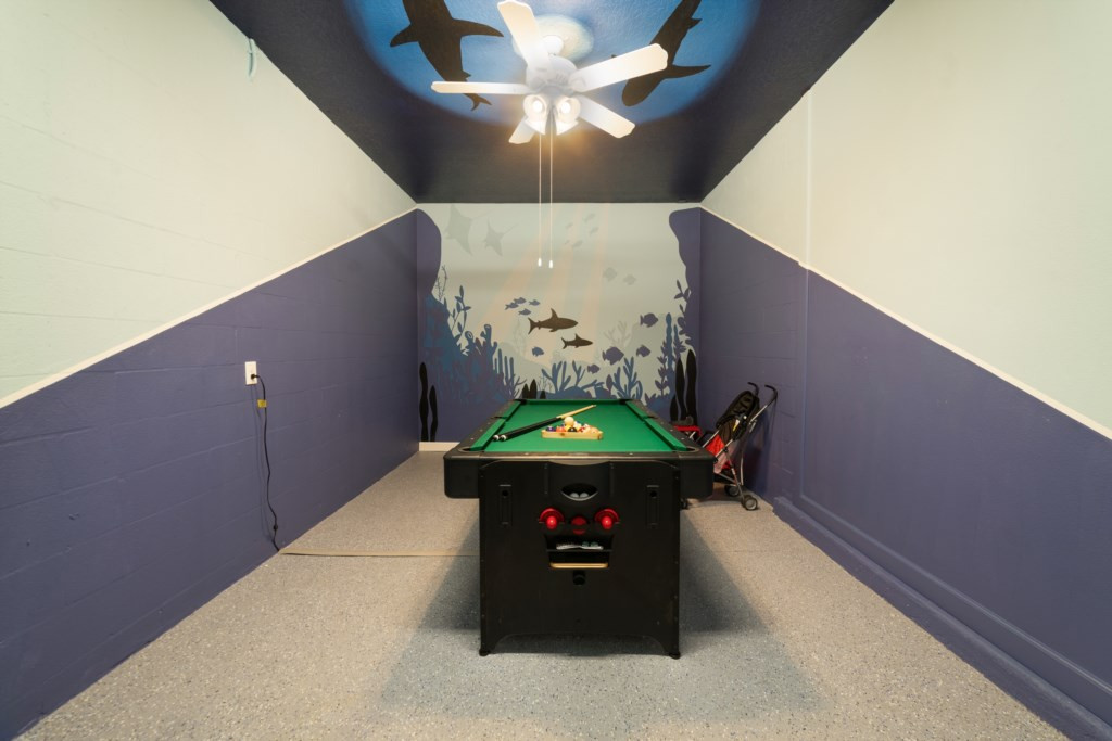 Custom Enclosed Game Room