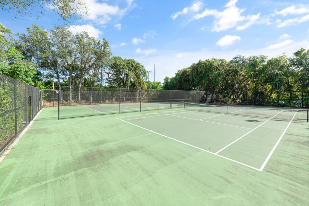 Tennis and Volly Ball Courts