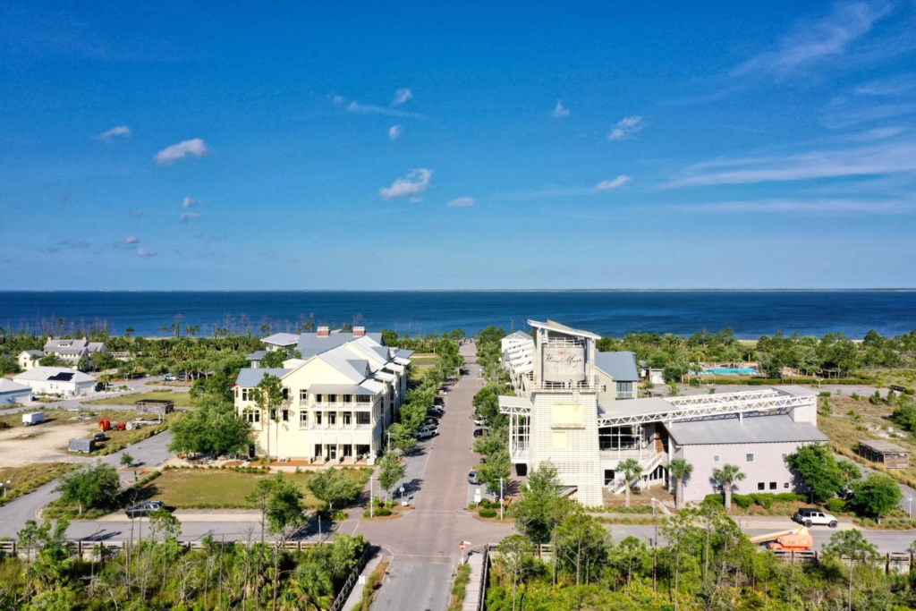 The City Center @ Windmark Beach offers food, drink, and shopping
