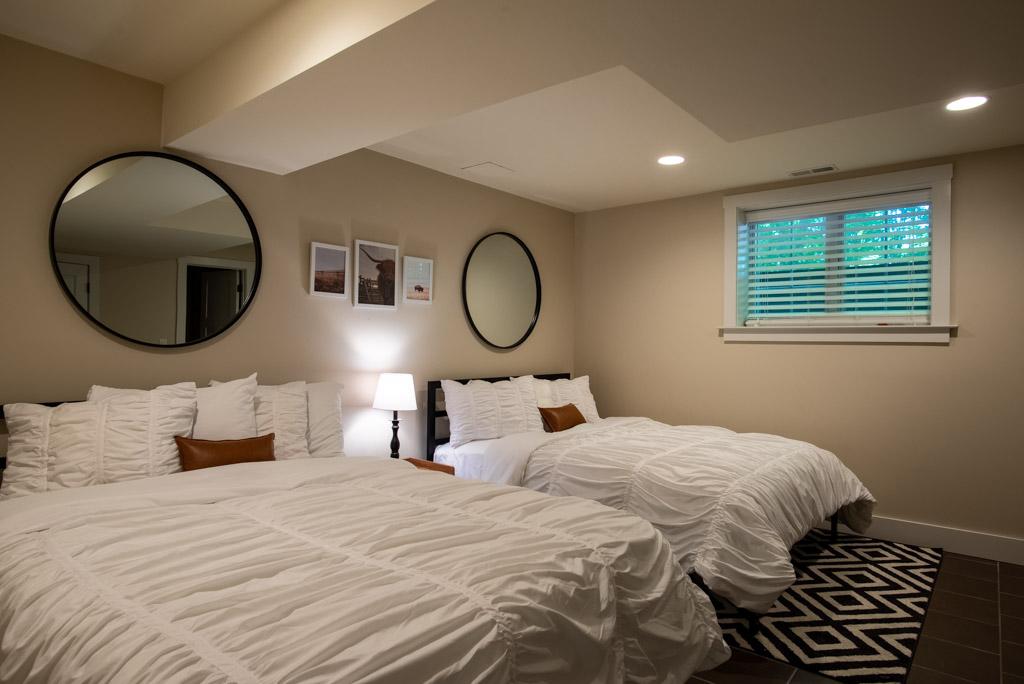 Bedroom #4 (2 Queens) Basement