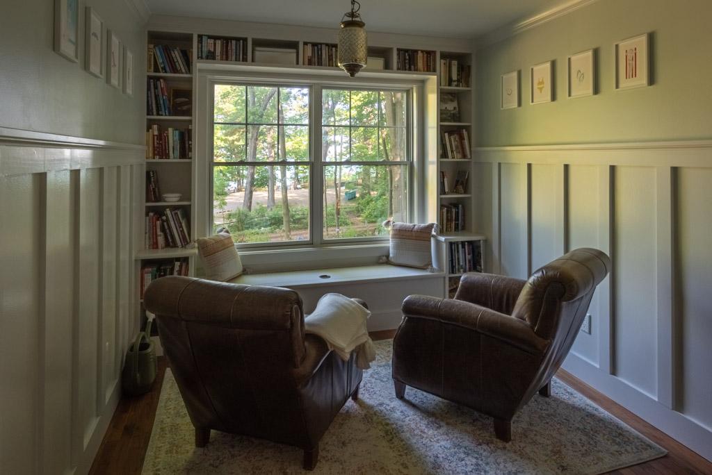 Reading Room Facing The Lake
