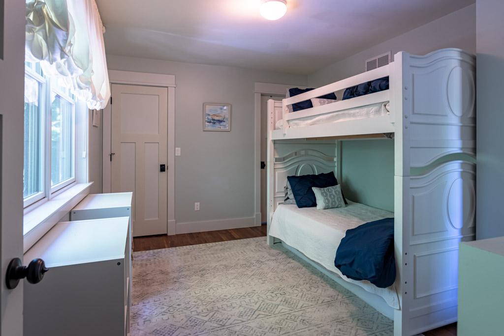 Bedroom #3 (Two Bunk Beds Twins) Second Floor