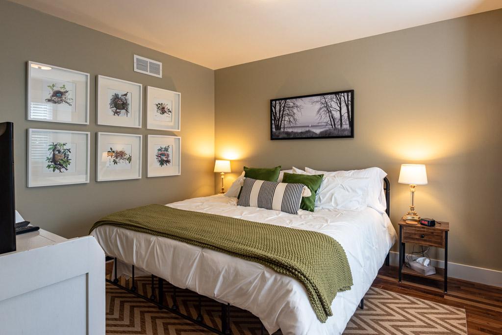 Bedroom #1 (King Bed) Main Floor