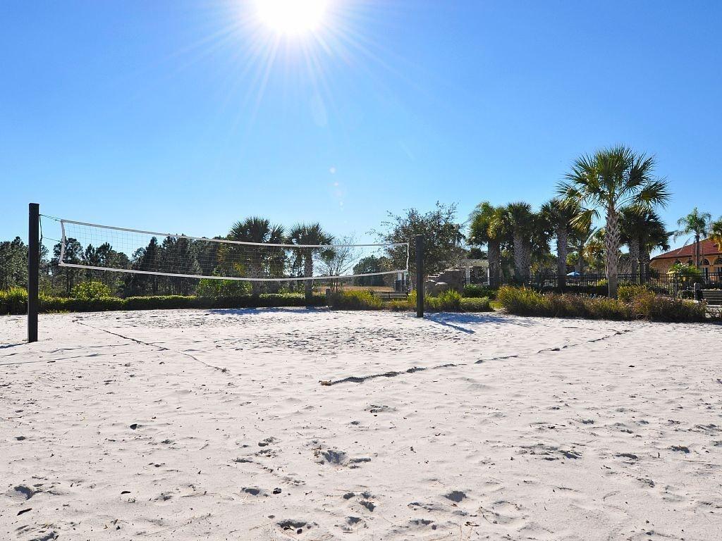 Resort Volleyball Area