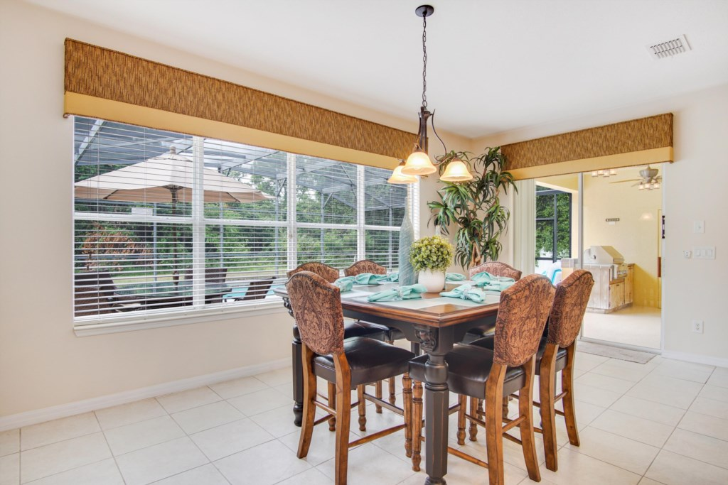 Dinette off the kitchen