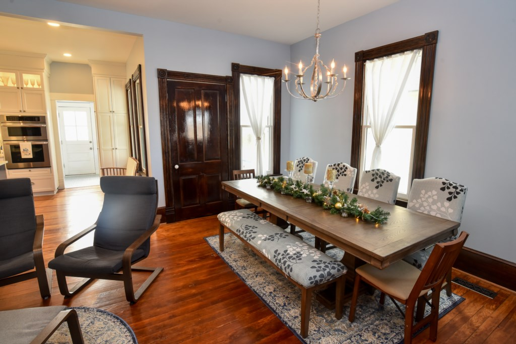 Dining Area with seating for ten.
