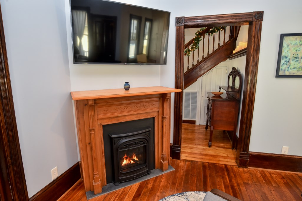 Family Room with Fireiplace to be used in the Off Seacon.