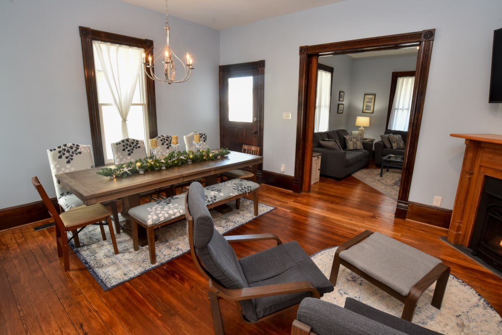 Additional view of Family Room/Dining Area