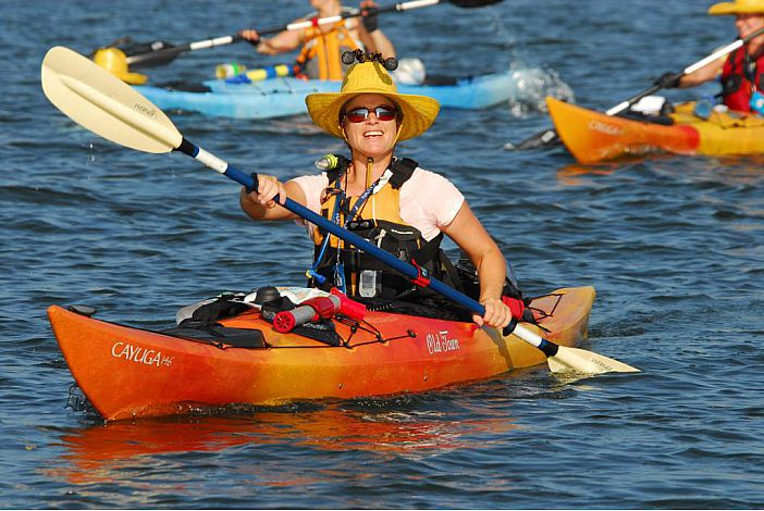 So many places to Kayak. Guided Kayak tours available.