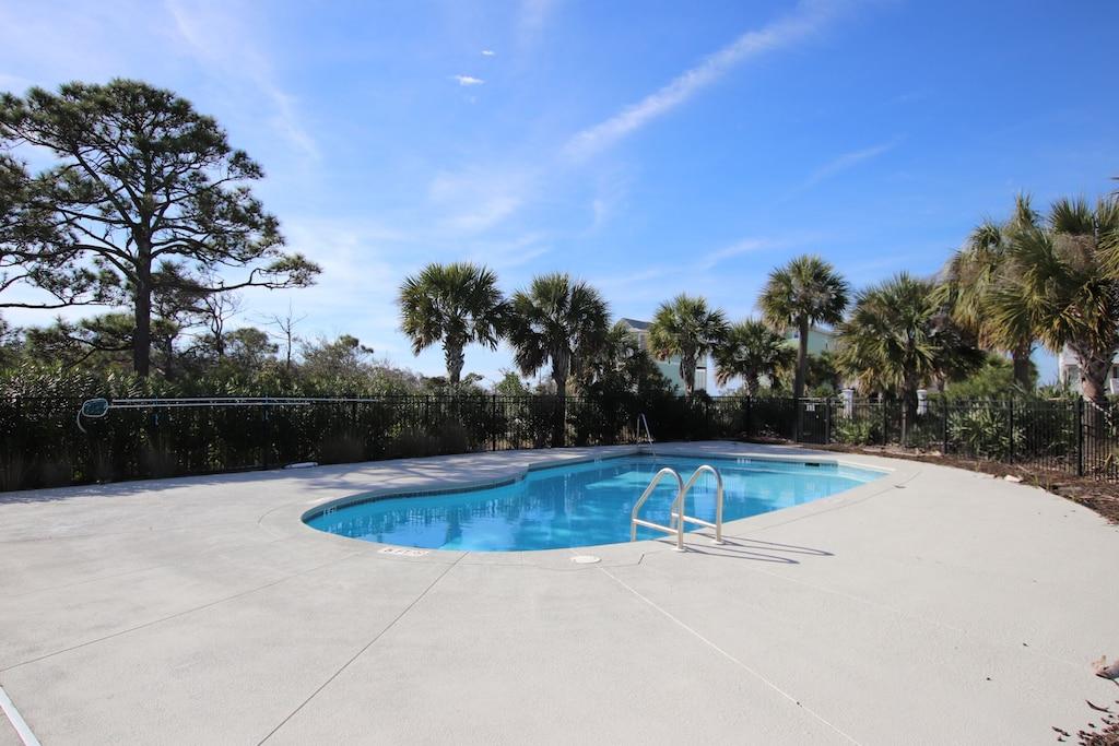 Choices: pool, beach, or hot tub?