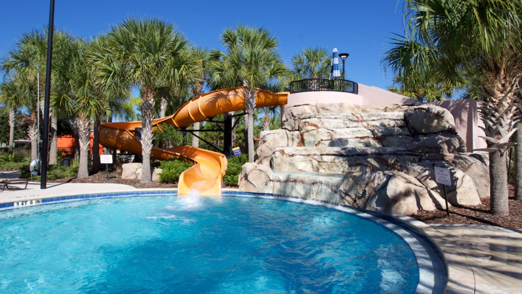 Solterra Resort Pool Slide